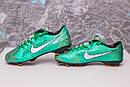 Бутсы Nike Mercurial  X (Зеленые) 1009(реплика), фото 8
