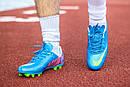Бутсы Nike Mercurial (синие) 1005(реплика), фото 2