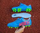 Бутсы Nike Mercurial (синие) 1005(реплика), фото 3