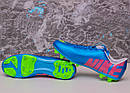 Бутсы Nike Mercurial (синие) 1005(реплика), фото 5