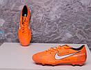 Бутсы Nike Mercurial  X (Оранжевый) 1010(реплика), фото 6