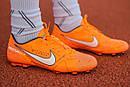 Бутсы Nike Mercurial  X (Оранжевый) 1010(реплика), фото 7