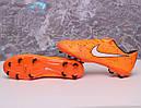 Бутсы Nike Mercurial  X (Оранжевый) 1010(реплика), фото 8