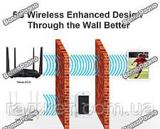 Роутер  TENDA AC6.Маршрутизатор Wi-Fi TENDA AC6 802.11ac AC1200 1.2Gbps, фото 3