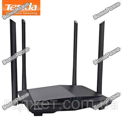 Роутер  TENDA AC6.Маршрутизатор Wi-Fi TENDA AC6 802.11ac AC1200 1.2Gbps, фото 2