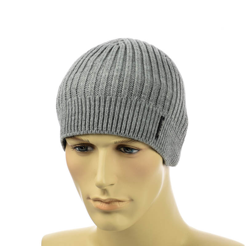 Чоловіча шапка 1*2 сірий
