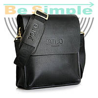 Кожаная сумка Polo Videng Черный