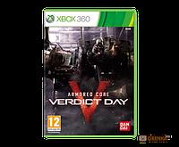 Armored Core: Verdict Day X-BOX (1423)