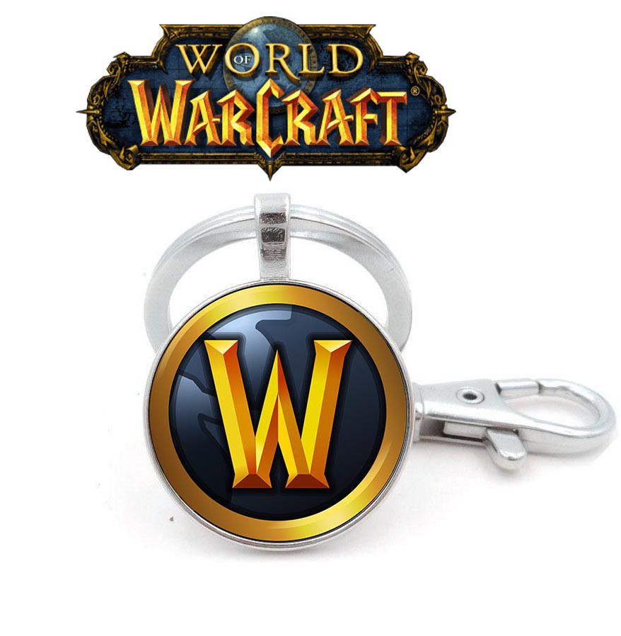 Брелок с логотипом Warcraft Варкрафт