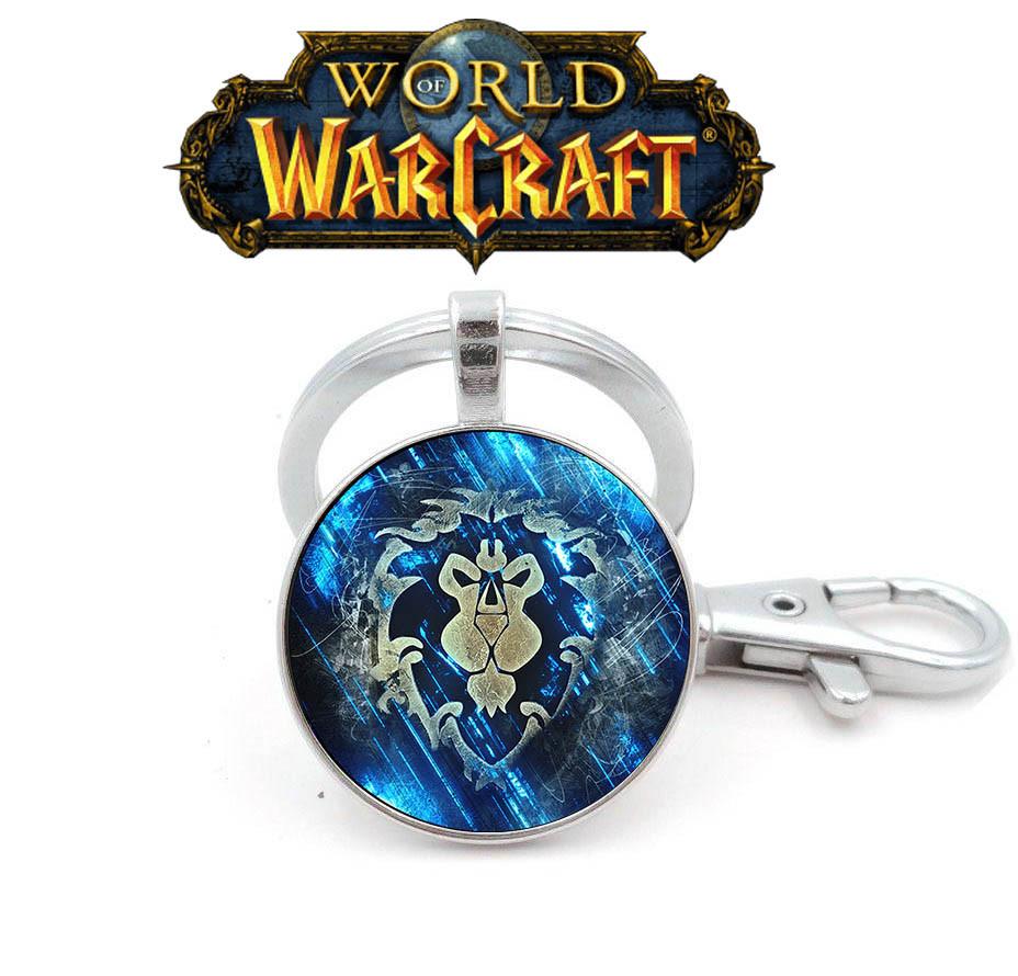 Брелок символ альянса Warcraft Варкрафт стилизованный