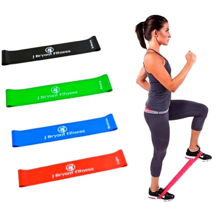 Фитнес резинки набор 5 штук в чехле Fit Simplify