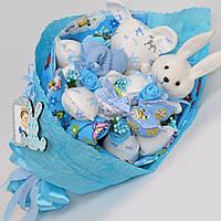 Букет в роддом на выписку / подарок на выписку из роддома / для новорожденных / букет на крестины