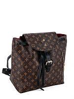 Женский рюкзак брендовый Луи Виттон Louis Vuitton дорогой Китай коричневый