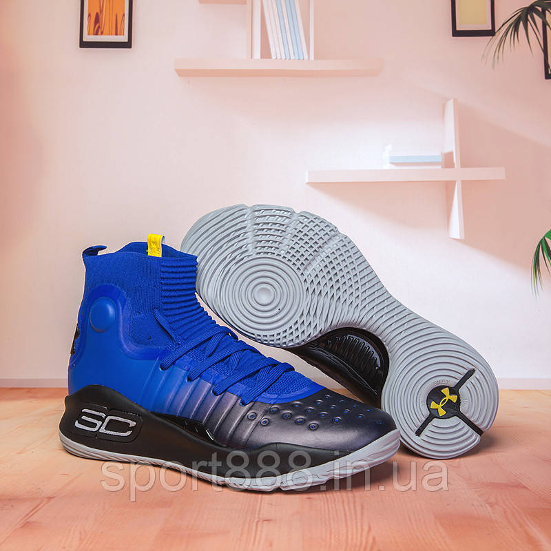 add94da8 Under Armour Curry 4 высокие детские баскетбольные кроссовки ...