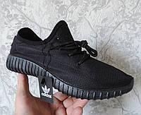 Мужские кроссовки Adidas Yeezy Boost Lion. Реплика производства Вьетнам. Черный, фото 1