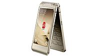 Раскладной смартфон tkexun W2016 gold, фото 1