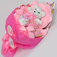 Букет в роддом на выписку / подарок на выписку девочки из роддома / для новорожденных / букет на крестины