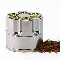 Крешер металлический для табака Барабан XL(50мм), фото 1