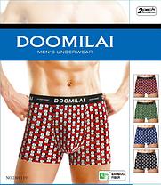 Мужские боксеры стрейчевые из бамбука  Марка  «DOOMILAI» Арт.D-01119, фото 2
