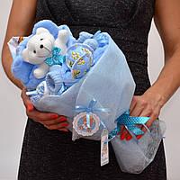 Букет в роддом на выписку / подарок на выписку мальчика из роддома / для новорожденных / букет на крестины