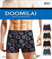 Мужские боксеры стрейчевые из бамбука  Марка  «DOOMILAI» Арт.D-01121, фото 2