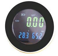 Стильный анализатор формальдегида - термогигрометр HT-502 для дома, склада и производства