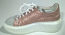 Слипоны кроссовки 39 размер бренд ANGELO BERVIKATO (Италия), фото 3