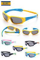 """Очки детские спортивные солнцезащитные ТМ """"Bocajuniors"""" 8110 (поляризация / защита от ультрафиолета UV400)"""