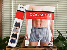 Мужские стрейчевые боксеры  Марка «DOOMILAI» Арт.D-01161, фото 2