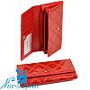 Женский кошелёк на кнопке Cossrol Series-2 WD-51 red (серия Rose)