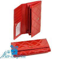 Женский кошелёк на кнопке Cossrol Series-2 WD-51 red (серия Rose), фото 1