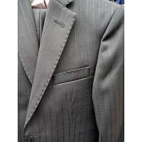 Школьный костюм для мальчика,сине-стальной