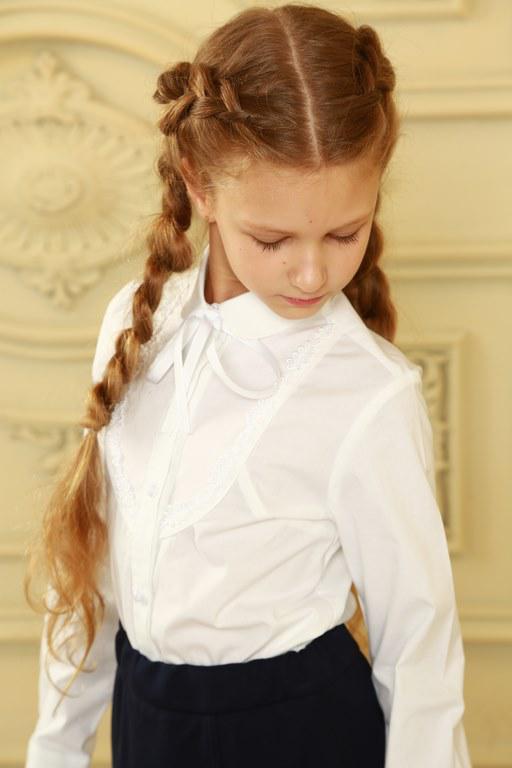 Модная блуза для школьницы