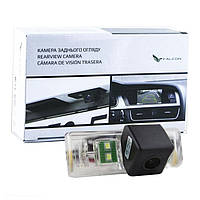 Штатная камера заднего вида Falcon SC14-HCCD. Nissan Juke 2010+/Note 2005-2013/Pathfinder 2005-2014/Patrol 2010