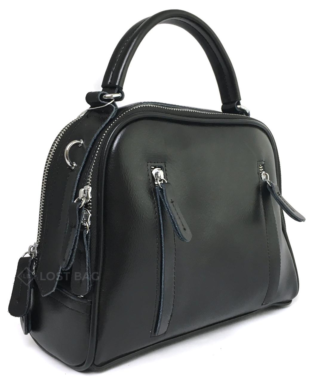 Шкіряна жіноча сумка Galanty