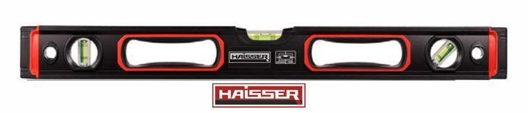 Уровень Haisser 80 см Heavy Duty, 3 капсулы, магнитный
