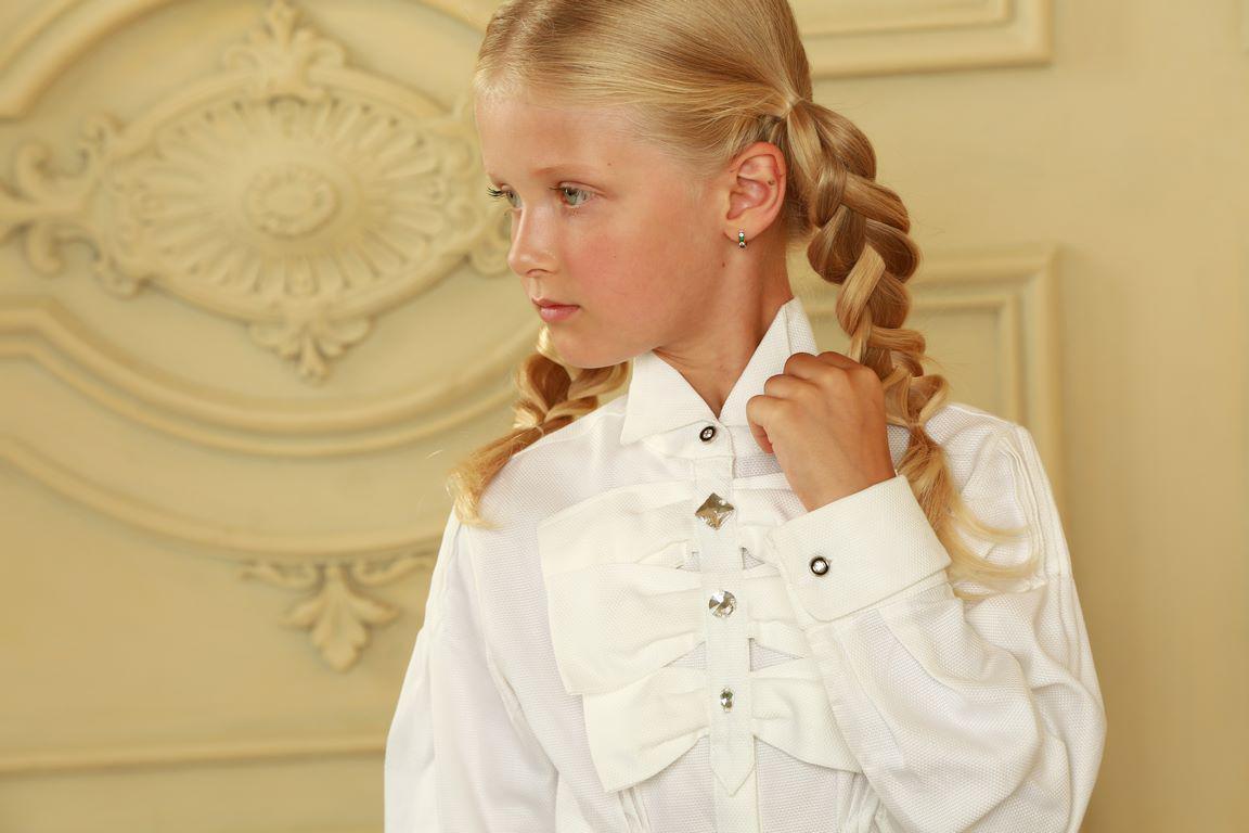 f98cc706330 Эксклюзивная блуза для девочек в школу  продажа