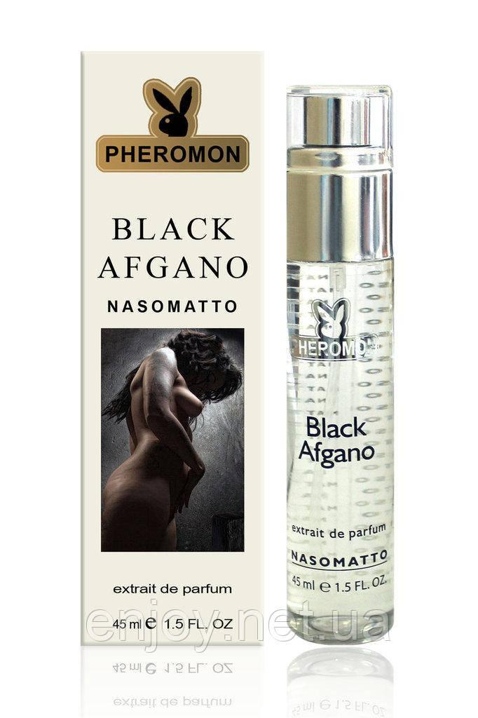 мини парфюм для мужчин и женщин с феромонами Nasomatto Black Afgano