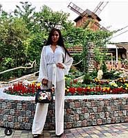 Женский комбинезон с декором в расцветках. А-9-0818