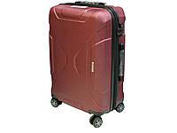 Большой антиударный чемодан из поликарбоната на 4-х колесах. Airtex 965, фото 1