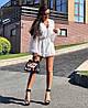 Женский комбинезон-шортами на пуговицах в расцветках. А-10-0818, фото 2