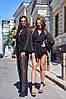 Женский комбинезон-шортами на пуговицах в расцветках. А-10-0818, фото 3