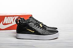 Мужские кроссовки в стиле Nike Tiempo Vetta Black (44 размер)