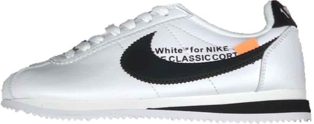 42a7340f Женские кроссовки Off-White x Nike Cortez White (Офф Вайт x Найк Кортез,