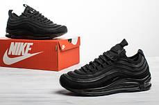 Мужские кроссовки в стиле Nike Air Max 97 Ultra Black (44 размеры), фото 2