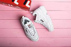 Женские кроссовки в стиле FILA Disruptor ll (36. 37, 38, 39, 40, 41 размеры), фото 3