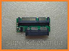 Переходник micro SATA SSD HDD to -> SATA