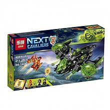 Конструктор Lepin 14041 Nexo Knight (аналог Lego 72003) Неистовый бомбардировщик, 413 детали