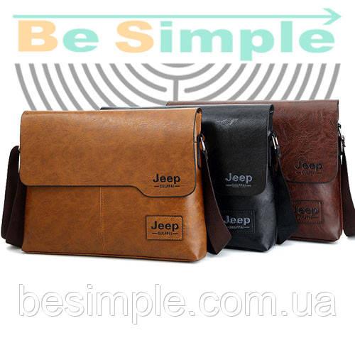 Сумка-портфель Jeep Buluo + Кошелек Baellery Leather
