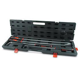 Набір монтувань для шиномонтажу кутових з гумовою ручкою хром-ванидиевого сплаву 4ед. TOPTUL JGAI0401